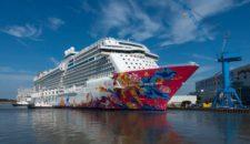 Genting Dream Ausdocken – Meyer Werft