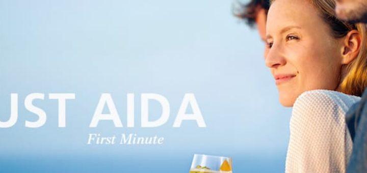 Just AIDA First Minute Angebote auf einen Blick / © AIDA Cruises