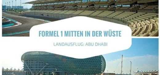Yas Marina Circuit - Formel 1 Rennstrecke in Abu Dhabi - Landausflug für Kreuzfahrer
