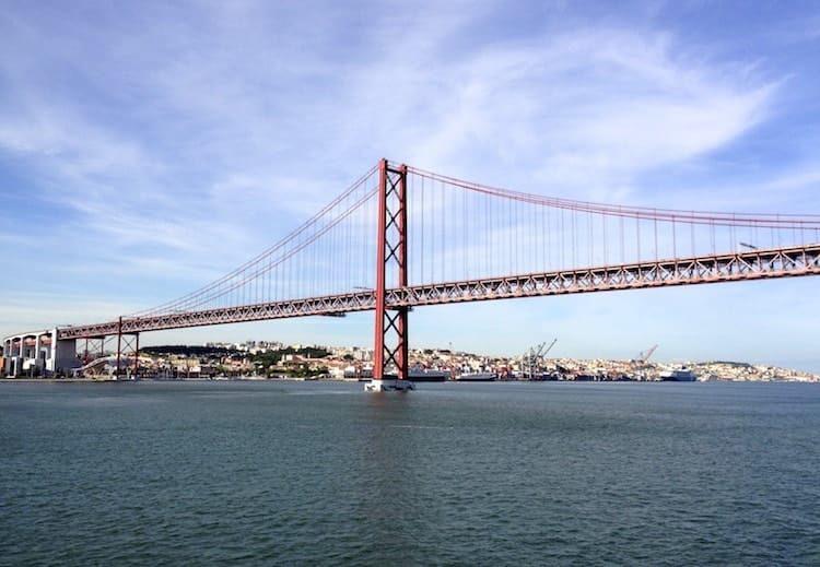 Lissabon Brücke des 25. April