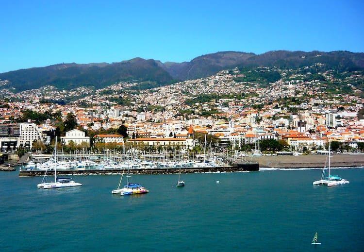 Yachthafen Funchal auf Madeira