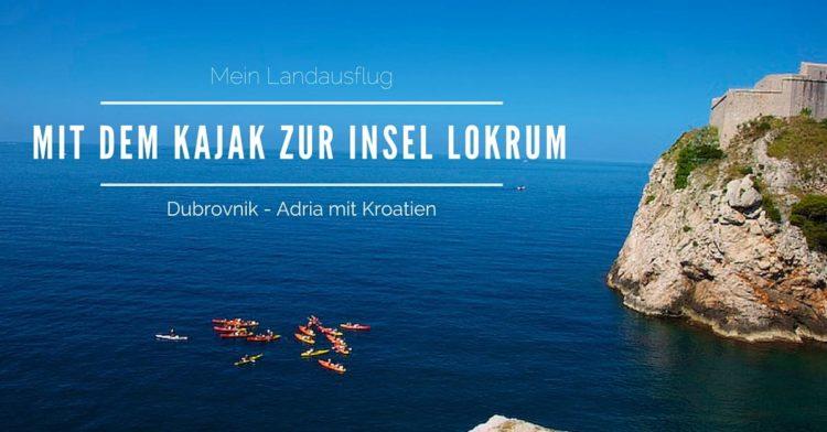 Mein Schiff Landausflug: Mit dem Kajak zur Insel Lokrum