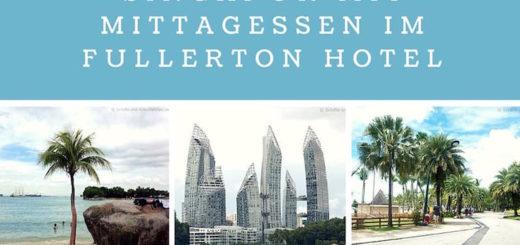 "Landausflug in Singapur mit Mittagessen im Hotel ""Fullerton"""