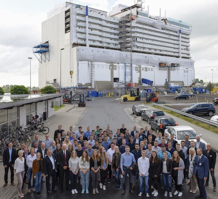 Meyer Werft bekommt 70 neue Auszubildende im Jahr 2016 / © Meyer Werft