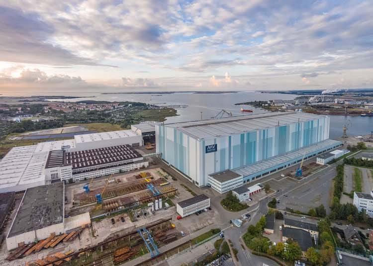MV Werften - Standort Wismar / © MV Werftgruppe