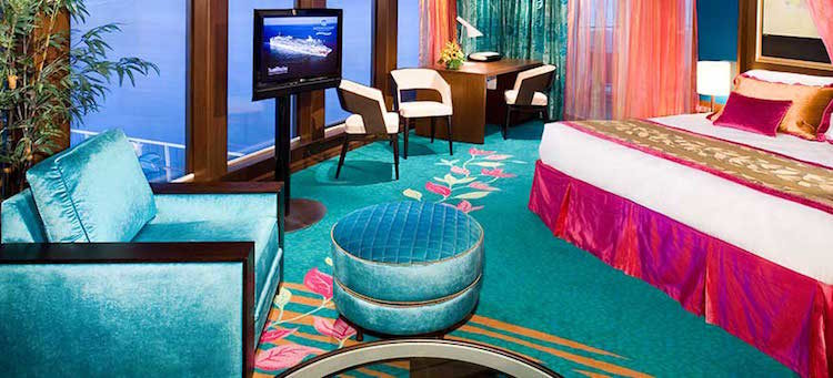 The Haven Deluxe Owner's Suite mit großem Balkon Norwegian Jade © NCL