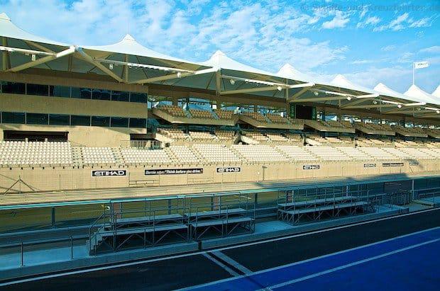 Formel 1 in Abu Dhabi - Yas Marina Circuit - Landausflug