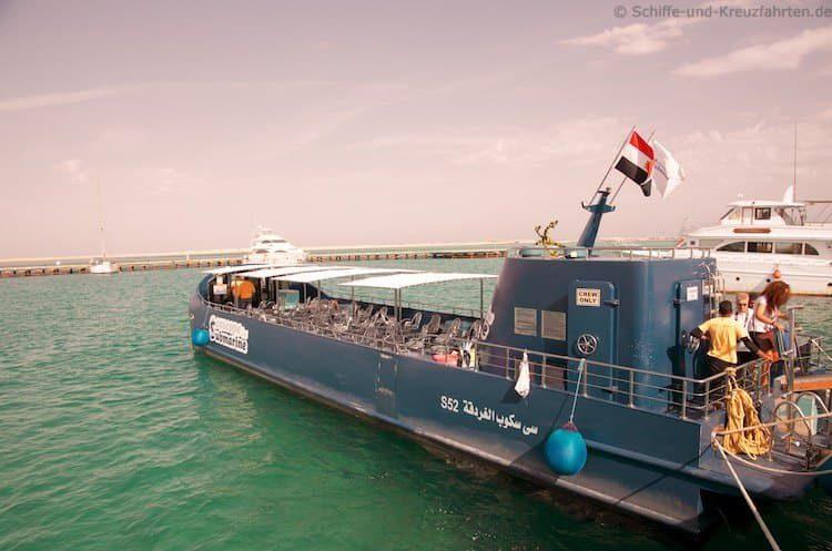 Glasboot in Safaga