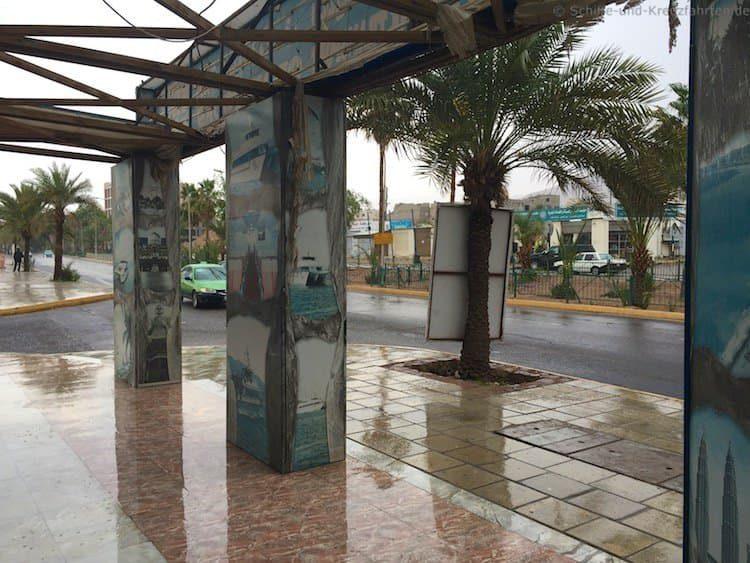 Regen in Aqaba