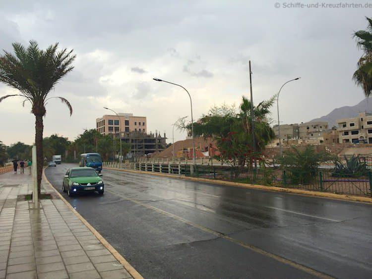 Taxi in Aqaba - sehr penetrant und nervig