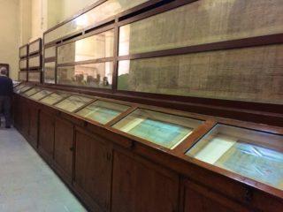 aegyptisches-museum-papyrus-schriften-1