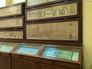 aegyptisches-museum-papyrus-schriften-2