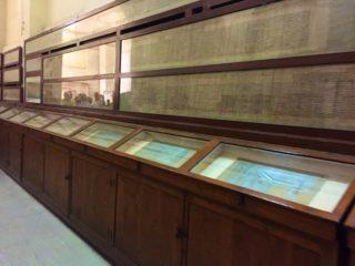 aegyptisches-museum-papyrus-schriften