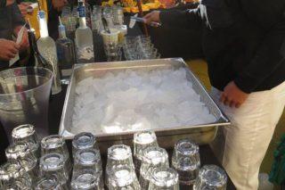 Frisches Eisberg Eis