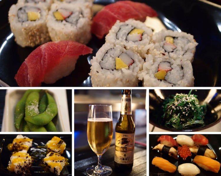 Sushi auf AIDAdiva