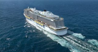 Die neue AIDA Helios Klasse - Heckansicht / © AIDA Cruises