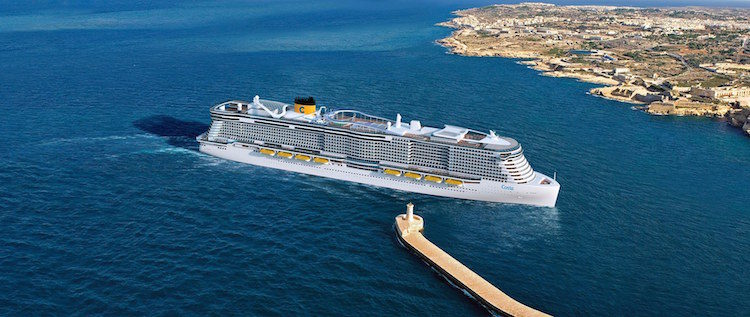 Costa Helios wird der zweite weltweite Kreuzfahrtschiff-Neubau sein mit LNG-Antrieb / © Costa Kreuzfahrten