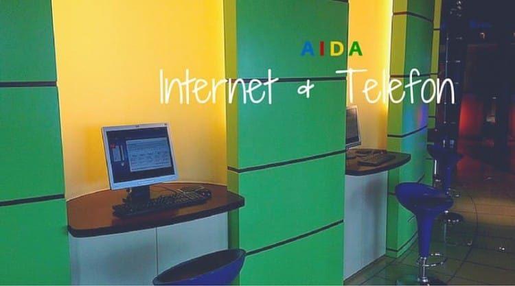 AIDA Interneflatrate, Wlan und Telefon auf See
