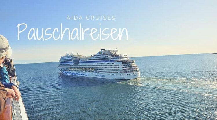 AIDA Pauschalreisen mit Bordguthaben und An- und Abreise