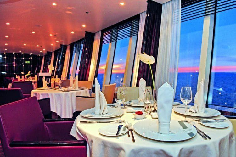 Das neue AIDA Selection Restaurant auf AIDAaura, AIDAcara und AIDAvita / © AIDA Cruises