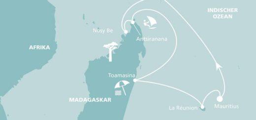 AIDAaura: Mauritius, Seychellen & Madagaskar