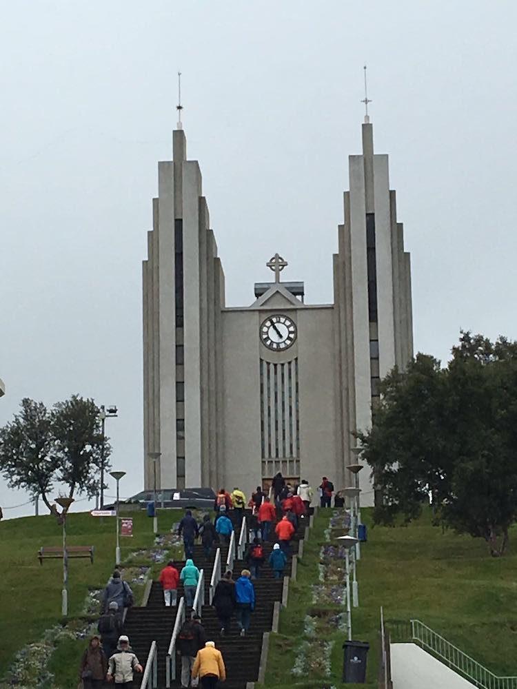 Akureyrakirkja Akureyri Island