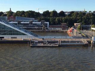 Ausblick Hamburger Hafen