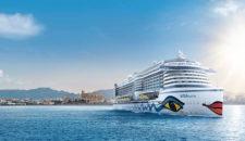 AIDAperla startet bereits im Juli 2017 auf Mittelmeer Kreuzfahrten