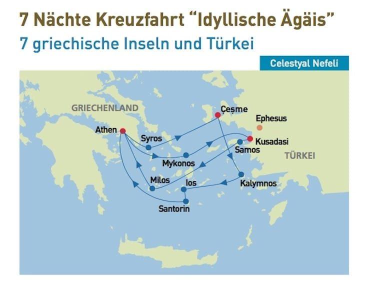 Celestyal Nefeli: Idyllische Ägäis - All Inclusive Kreuzfahrten