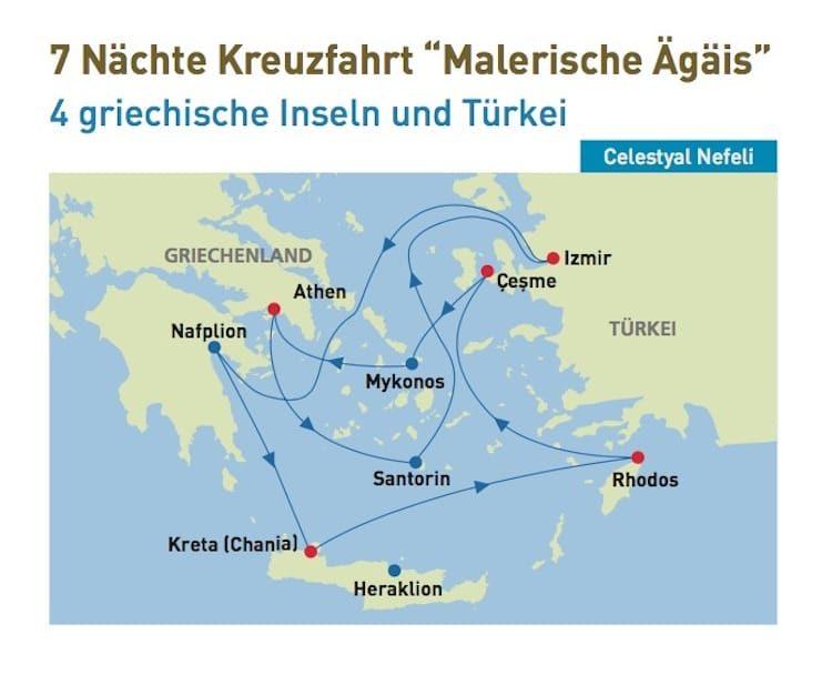 Celestyal Nefeli: Malerische Ägäis - All Inclusive Kreuzfahrten