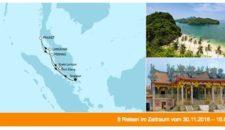 Mein Schiff 1 Asien mit Malaysia