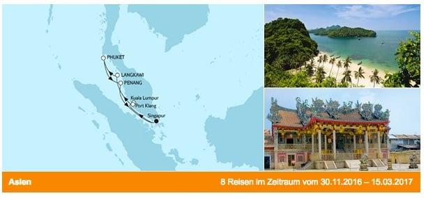 Mein Schiff 1: Asien mit Malaysia / © TUI Cruises