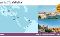 Mein Schiff 1 Dubai trifft Valletta