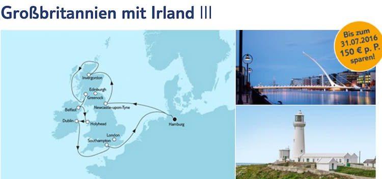 Mein Schiff 1 Großbritannien mit Irland / © TUI Cruises