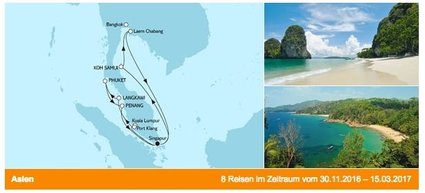 Mein Schiff 1 Malaysia und Thailand / © TUI Cruises