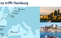 Mein Schiff 1 Mallorca trifft Hamburg