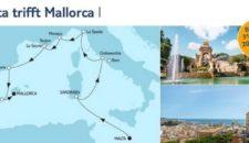 Mein Schiff 1 Malta trifft Mallorca 1