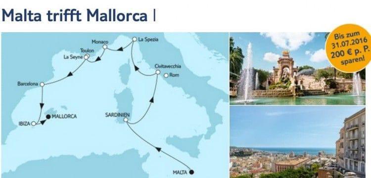 Mein Schiff 1 Malta trifft Mallorca / © TUI Cruises