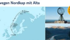 Mein Schiff 1 Norwegen Nordkap mit Alta