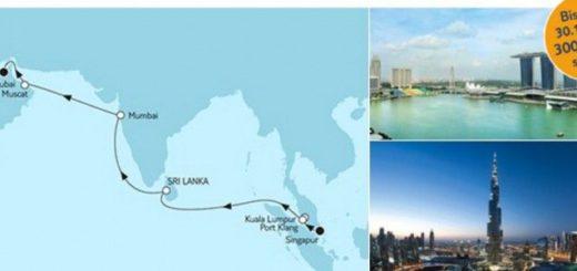 Mein Schiff 1 Singapur Abschiedsreise der Mein Schiff 1 / © TUI Cruises