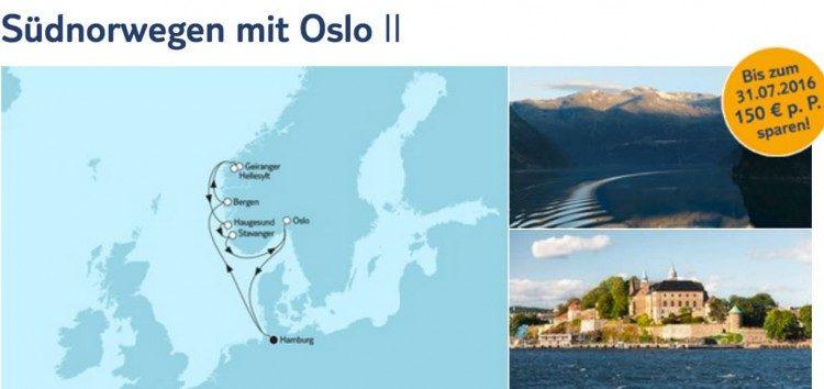 Mein Schiff 1 Südnorwegen mit Oslo 2 / © TUI Cruises