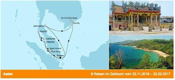 Mein Schiff 1 Vietnam und Malaysia / © TUI Cruises