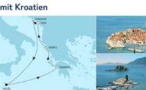 Mein Schiff 2 Adria mit Kroatien