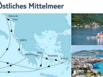 Mein Schiff 2 Adria und Östliches Mittelmeer / © TUI Cruises
