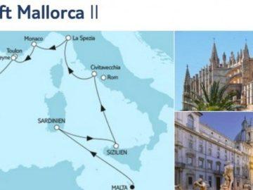 Mein Schiff 2 Malta trifft Mallorca 2 / © TUI Cruises