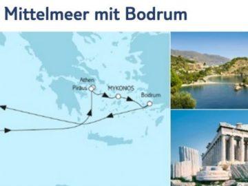 Mein Schiff 2 Östliches Mittelmeer mit Bodrum / ©TUI Cruises