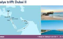 Mein Schiff 3 Antalya trifft Dubai 2