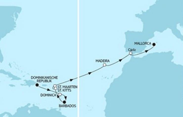Mein Schiff 3 Dom. Republik trifft Mallorca 2 © TUI Cruises