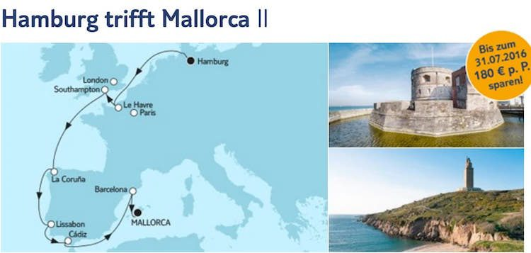 Mein Schiff 3 Hamburg trifft Mallorca 2 / © TUI Cruises