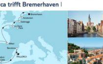 Mein Schiff 3 Mallorca trifft Bremerhaven 1